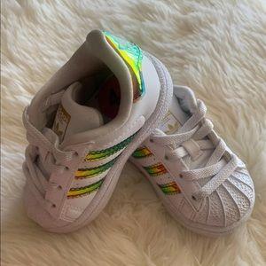 Baby Adidas Superstars